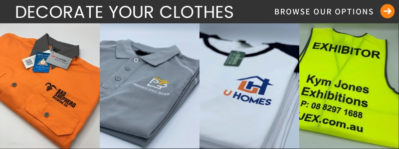 Decorate Your Clothes Banner