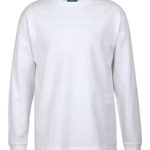 Colours of Cotton Kids Long Sleeve Tee White