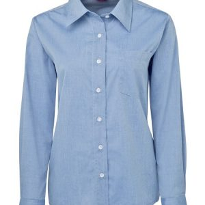 JB's Ladies Original Long Sleeve Fine Chambray Shirt