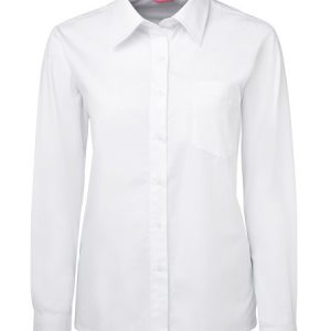 JB's Ladies Long Sleeve Original Poplin Shirt