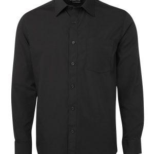 JB's Long Sleeve Contrast Placket Shirt