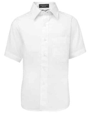 JBs Workwear Kids Short Sleeve Poplin Shirt