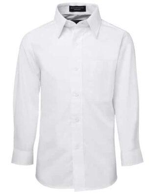 JBs Workwear Kids Long Sleeve Poplin Shirt