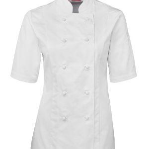 JB's Ladies Short Sleeve Chef's Jacket