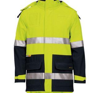 JB's Hi Vis (D+N) Soft Shell Industry Jacket