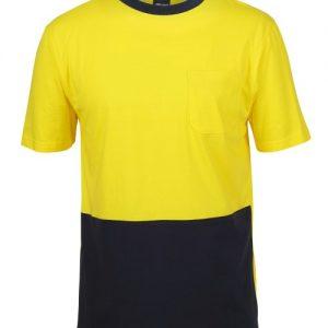 JB's Hi Vis Crew Neck Cotton T-Shirt