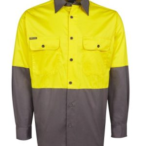 JB's Hi Vis Long Sleeve 150G Shirt