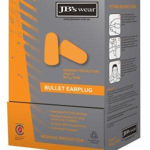 JB's Bullet Shaped Earplug (200Pr)