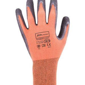 JB's Bamboo Latex Crinkle 1/2 Dipped Glove (12 Pack)