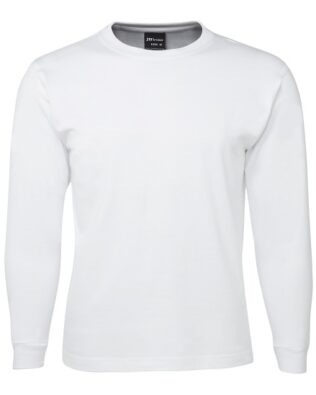 Colours of Cotton Long Sleeve Tee White