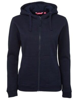JBs Workwear Ladies Full Zip Fleece Hoodie