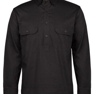 Colours of Cotton Longreach L/S 150G C/Front Shirt