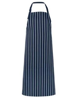 JBs Workwear Bib Striped Apron Without Pocket