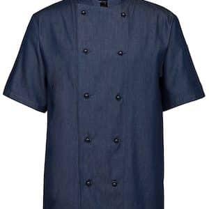 JBs Denim S/S Chefs Jacket
