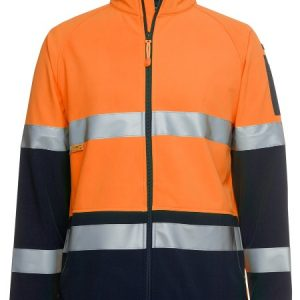 JBs Hi Vis (D+N) Softshell Jacket