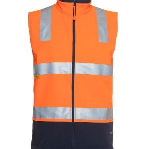 JBs Hi Vis (D+N) Softshell Vest