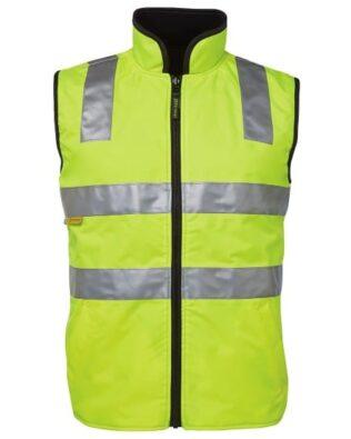 JBs Workwear Hi Vis (D+N) Reversible Vest