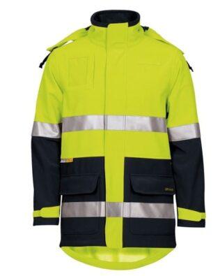 JBs Workwear Hi Vis (D+N) Soft Shell Industry Jacket