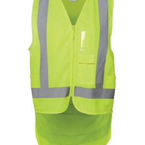 JBs Hi Vis Drop Tail H Pattern (D+N) Vest