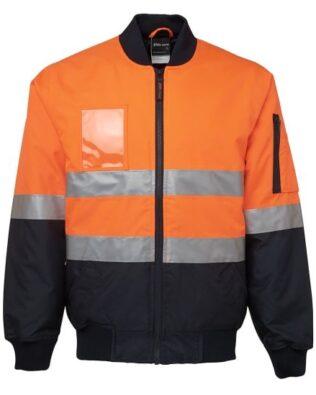 JBs Workwear Hi Vis (D+N) Flying Jacket