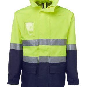 JBs Hi Vis (D+N) Long Line Jacket