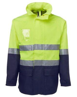 JBs Workwear Hi Vis (D+N) Long Line Jacket