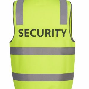 JBs Hi Vis D+N Safety Vest Security