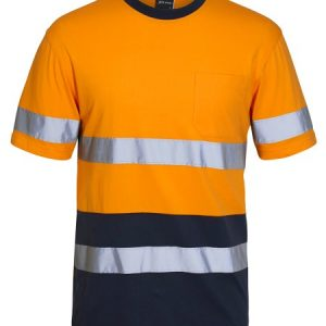 JBs Hi Vis (D+N) Cotton T-Shirt