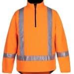 JBs Workwear Hi Vis (D+N) Ttmc-W 1/2 Zip Polar