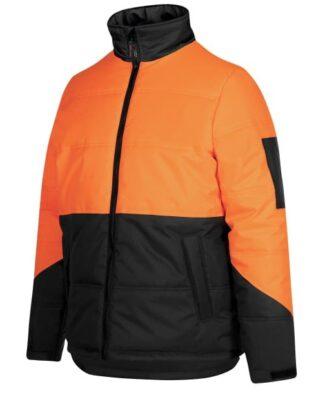 JBs Workwear Hi Vis Puffer Jacket
