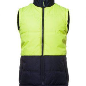JBs Hi Vis Puffer Vest