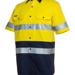 JBs Hi Vis (D+N) Short Sleeve 190G Shirt