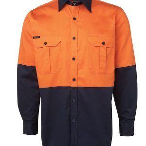 JBs Hi Vis L/S 190G Shirt