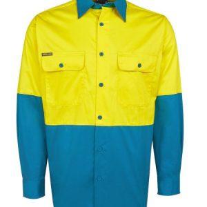 JBs Hi Vis Long Sleeve 150G Shirt