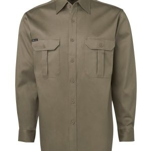 JBs Long Sleeve 190G Work Shirt