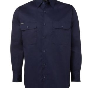 JBs Long Sleeve 150G Work Shirt