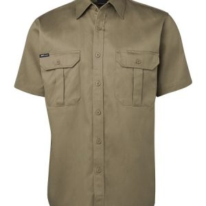 JBs Short Sleeve 190G Work Shirt