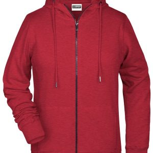 James & Nicholson Ladies Zip Hoody