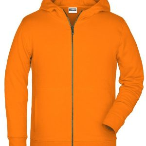 James & Nicholson Children's Zip Hoody