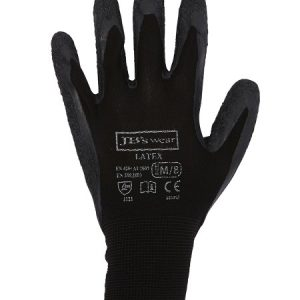 JBs Black Latex Glove (12 Pack)