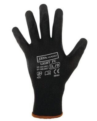 JBs Workwear Black Light Pu Glove (12 Pack)
