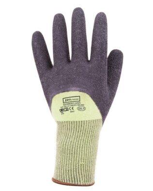 JBs Workwear Bamboo Latex Crinkle 3/4 Dipped Glove (12 Pack)