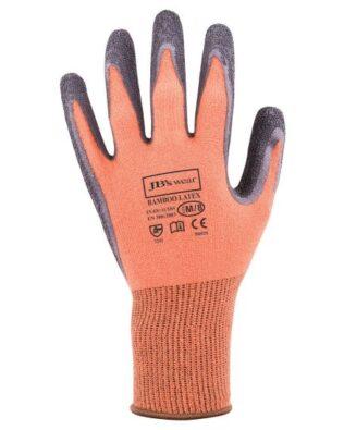JBs Workwear Bamboo Latex Crinkle 1/2 Dipped Glove (12 Pack)