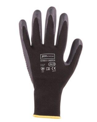 JBs Workwear Nitrile Gripper Glove (12 Pack)