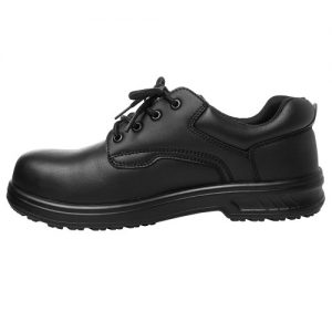 JBs Microfibre Lace Up Steeltoe Shoe