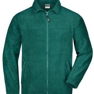 James & Nicholson Full-Zip Fleece