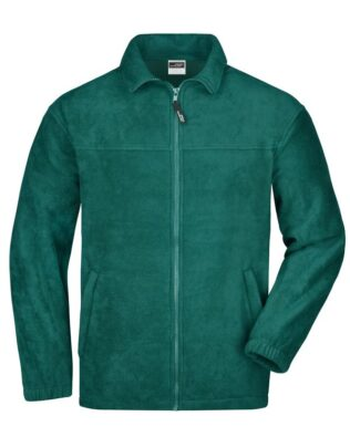 James & Nicholson Full-Zip Fleece