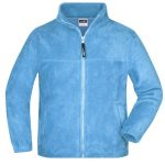 James & Nicholson Full-Zip Fleece Junior