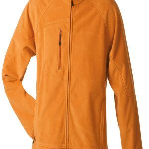 James & Nicholson Mens Bonded Fleece Jacket