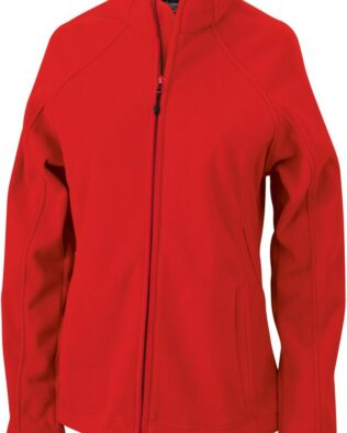 James & Nicholson Ladies Bonded Fleece Jacket